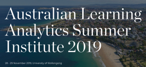 Australian Learning Analytics Summer Institute